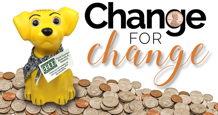 Humane Society of Marion County Change for Change